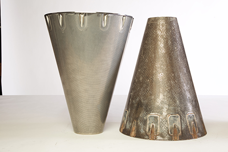Acoustically Treated Exhaust Cone